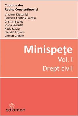 Minispete Vol I Drept civil