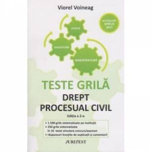 Teste grila Drept procesual civil Editia a 2-a Voineag