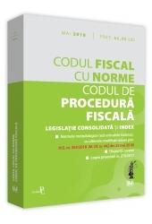 codul de procedura fiscala mai 2018