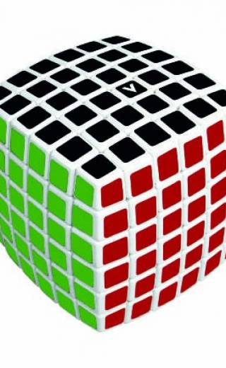 Cub rubik V-Cube 6 Bombat